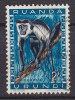 Ruanda-Urundi 1959 Mi. 167 A      2 Fr Geschüzte Tier Guereza Monkey Affe - Ruanda-Urundi