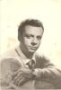 L-JOHNNY DORELLI-AUTOGRAFO-CARD CON AL RETRO DISCOGRAFIA - Autogramme