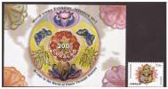 Antilles / Curacao 2012 Postzegel Stamp Exhibition Indonesia 2012 + S/S MNH - Curacao, Netherlands Antilles, Aruba