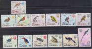 GAMBIA  OISEAUX  Yvert N°208/20** Mnh  Réf 1345 - Birds