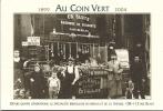 Au Coin Vert, Bruxelles - Tissus D´ameublement - Cartes De Visite