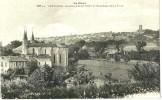 Lectoure.Panorama De Lectoure Et Eglise Saint-Geny. - Lectoure