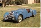 AUTOMOBILES VOITURE TOURISME PEUGEOT DARL MAT 1937 - Turismo