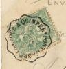 CACHET CONVOYEUR PONT L'ABBE LAMBOUR A QUIMPER - Postmark Collection (Covers)