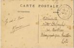 CACHET AMBULANT  PARIS A TOULOUSE 2° - Railway Post