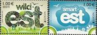 EE 2012-728-9 EUROPA CEPT, ESTONIA, 1 X 2v, MNH - Estland