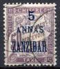 ZANZIBAR Postage Due (Porto, Taxe) 1897 - Yv.5 (Mi.5, Sc.J5) VF - Zanzibar (1894-1904)