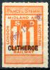GB Railway Parcel Stamp - Clitheroe - Grossbritannien