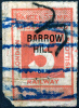 GB Railway Parcel Stamp - Barrow Hill - Grossbritannien