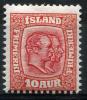 ICELAND 1907 Wmk Crown - Yv.52 (Mi.53, Sc.76) MLH Perfect (VF) - Nuovi