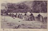 CONGO BELGE = Village De L'île Des Princes En Face De Boma - Carte Animée (Nels) écrite - Congo Belge - Autres