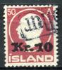 ICELAND 1926 - Yv.111 (Mi.120, Sc.140) Used (revenue Cancel) Perfect (VF) - 1918-1944 Autonomous Administration