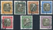 ICELAND Officials 1902 - Yv.17-23 (Mi.Dienst 17-23) Compl. Set (perfect) All VF - Servizio
