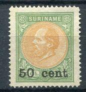 SURINAM 1900 - Yv.40 (Mi.46, Sc.42) MNG (as Issued) Perfect (VF) - Surinam ... - 1975