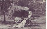 CONGO BELGE = Katanga = Elisabethville = Négresse Au Travail - Carte Animée - Belgian Congo - Other