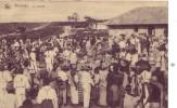 CONGO BELGE = Kinshasa = Le Marché - Carte Très Animée (Nels) écrite - Kinshasa - Leopoldville