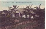 CONGO BELGE = Habitation à Mulungu - Carte Couleur (écrite) 1912 - Belgian Congo - Other