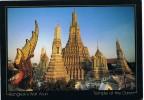 6058. Postal Tahilandia. BANGKOK Wat Arun.  Templo De Dawn - Tailandia