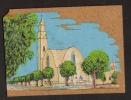 Carte Peinte Sur Liège Béchar Dame Saoura - Bechar (Colomb Béchar)
