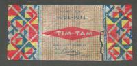 LATVIA RIGA  , PRE WW II   CANDY WRAPPER TIM TAM - Chocolate