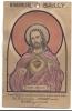 CARTE A SYSTEME HYGROMETRE BAILLY RELIGION MON JESUS  COULEURS CHANGEANTES - A Systèmes