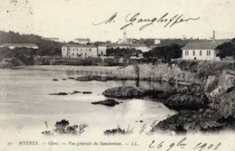 83 HYERES - Giens - Vue Générale Du Sanatorium - Hyeres