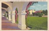 Cafe And Casino From Corridor Of Hotel Agua Caliente, Baja California, Mexico, 1930-1940s - Mexique