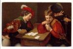 E1053 - Joueurs De Cartes  *le Tricheur*der Falschspieler* - Cartes à Jouer