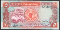 5 Pounds Ungebraucht / Mint (m158) - Sudan