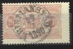 20 öre Oblitéré Du 29-7-1890 KRISTIANSTAD - Service