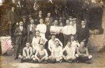 St Quentin, Rare Carte Photo Football- équipe St Quentinoise Qui A Rencontré Braine Le Comte 28 Mai 1917 - Saint Quentin