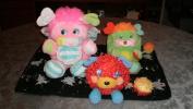 LOT DE 2 PELUCHES POPPLES TTB ETAT DONT 1 DE + 20 ANS(ANNEE 80) - Cuddly Toys
