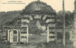 SAINT PHILBERT SUR RISLE : Porte De La Ferme Du Prieuré. 2 Scans. Edition Hauchard - Francia