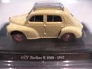 RENAULT 4CV - Berline R 1060 Modèle Réduit à 1/43e - Cars & 4-wheels