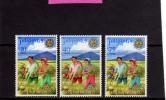 PHILIPPINES - PILIPINAS - FILIPPINE 1969 ANNIVERSARY REPUBLIC RICE FOR PROGRESS - 23° ANNIVERSARIO REPUBBLICA MNH - Filippine