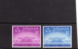 PHILIPPINES - PILIPINAS - FILIPPINE 1969 CULTURAL CENTER  - CENTRO CULTURALE MNH - Filippine
