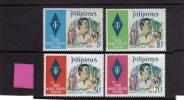 PHILIPPINES - PILIPINAS - FILIPPINE 1972 THIRD WORLD THEATRE FESTIVAL UNESCO - FESTIVAL DEL TEATRO MNH - Filippine