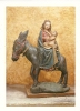 Cp, Objet D'Arts, Moissac (82), Abbatiale St-Pierre, Fuite En Egypte - Belle-Arti