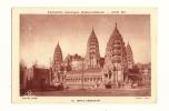 Cp, 75, Paris, Exposition Coloniale Internationale - Paris 1931, Temple D'Angkor-Vat - 18, Voyagée 1931 - Expositions