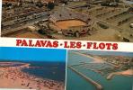 34   PALAVAS  LES FLOTS  DIFFERENTES VUES - Palavas Les Flots
