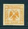 ALBANIA  -  1917  Double Headed Eagle  1f  Mounted Mint As Scan - Albania