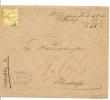 1875 15 Rp Nachnahme Nr.39 KW 150 - 1862-1881 Sitzende Helvetia (gezähnt)