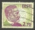 ESTLAND Estonia Estonie 1995 Louis Pasteur O - Louis Pasteur