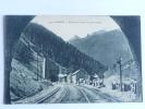 MODANE - Entrée Du Tunnel Du Mont Cenis, Voie Ferrée - Andere Gemeenten