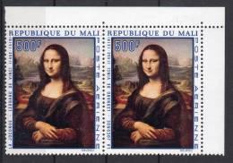 1969, Da Vinci - La Joconde, Y&T PA No. 82 En Paire, Neuf **, Lot 41338 - Art