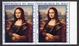 1969, Da Vinci - La Joconde, Y&T Aériens No. 82 En Paire, Neuf **, Lot 41339 - Art