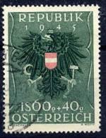 AUSTRIA 1949 Prisoner Of War Fund 1.60s+40g Used .  Michel 940 - 1945-.... 2nd Republic