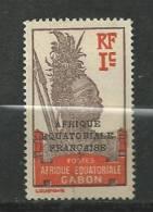 AFRIQUE  EQUATORIALE  FRANCAISE  N°  33  OBLITERE  FRAIS  DE  PORT  POUR  LA  FRANCE  1,10 - A.E.F. (1936-1958)