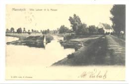 MAASEIK - MAESEYCK - Villa Labaar Et La Meuse  (Y123)- Léger Pli Coin Inférieur Droit - Maaseik