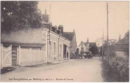 Les Bourgetteries Par Mettray (I. & L.) Route De Tours - Frankreich
